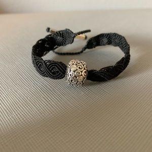 Woven Pandora bracelet